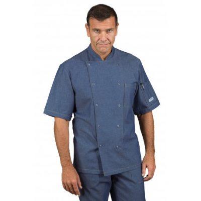 giacca-cuoco-jeans-bottoni-a-pressione-m-m-100-cotton